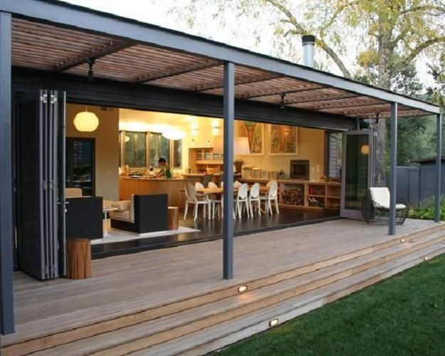 Now that's an improvement on out patio doors!