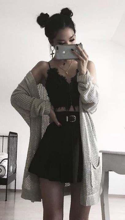 Fashion Edgy Grunge Sweaters 48+ Ideen für 2019   - To do Outfits - #Edgy #Fashion #für #Grunge #Ideen