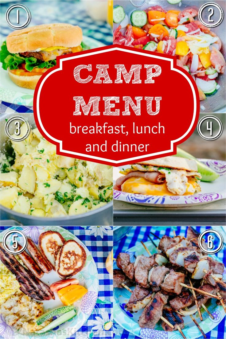 This year's camping food was excellent! Sharing our best camping recipes and ideas for breakfast, lunch and dinner. Makes me want to go camping again! | http://natashaskitchen.com