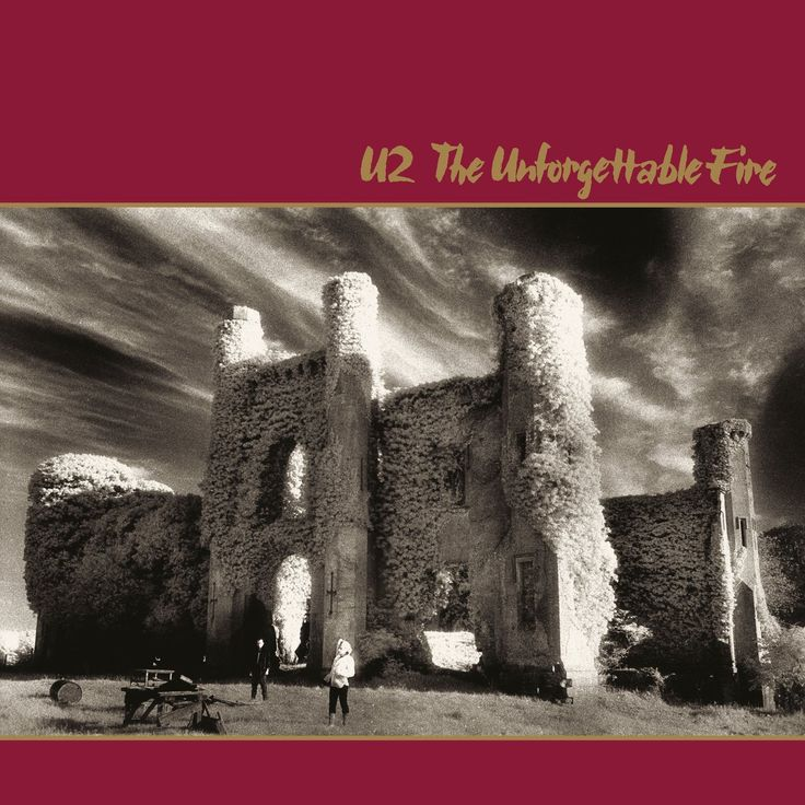 U2 - The Unforgettable Fire Vinyl Record w/ Booklet
