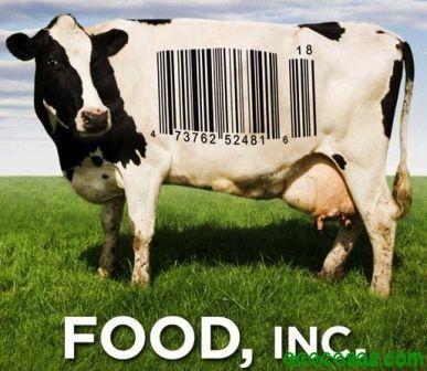 """Food Inc. (Documental) El largometraje documental """"Food Inc."""" muestra el funcionamiento de la industria alimentaria de EE.UU y los procesos que se ocultan al consumidor con el consentimiento de las agencias reguladoras y de control gubernamentales."""