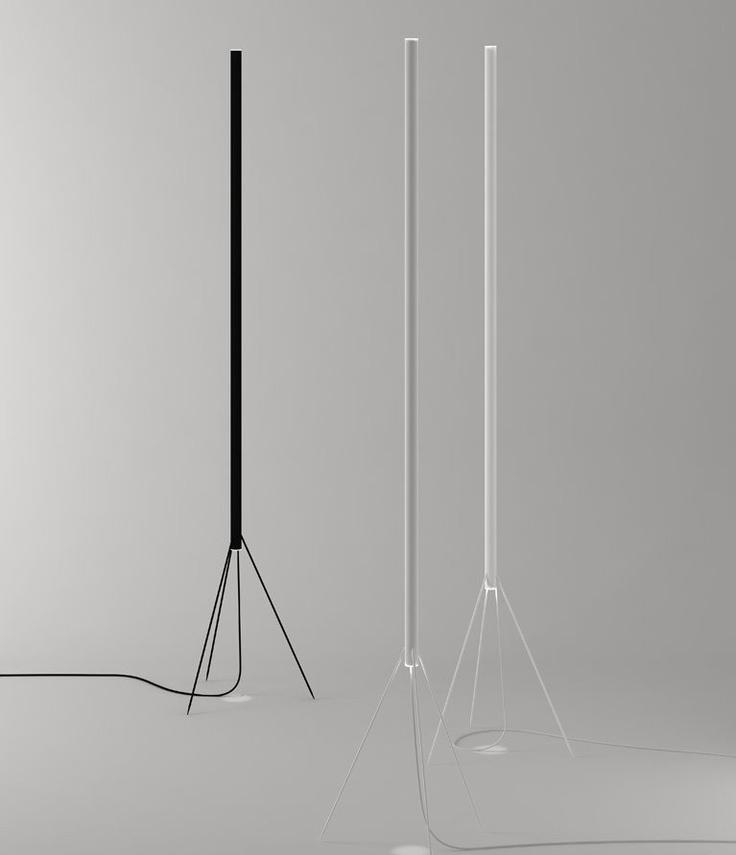 Achille & Pier Giacomo Castiglioni  / luminator  floor  lamp