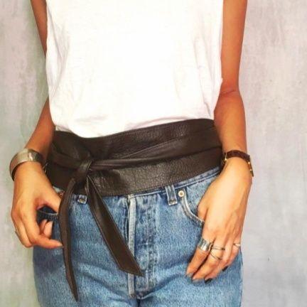 TODAYFUL(トゥデイフル) |Leather Sash Belt