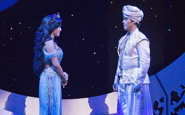 'Aladdin' cast album: Listen to two tracks from the Broadway musical — EXCLUSIVE | EW.com
