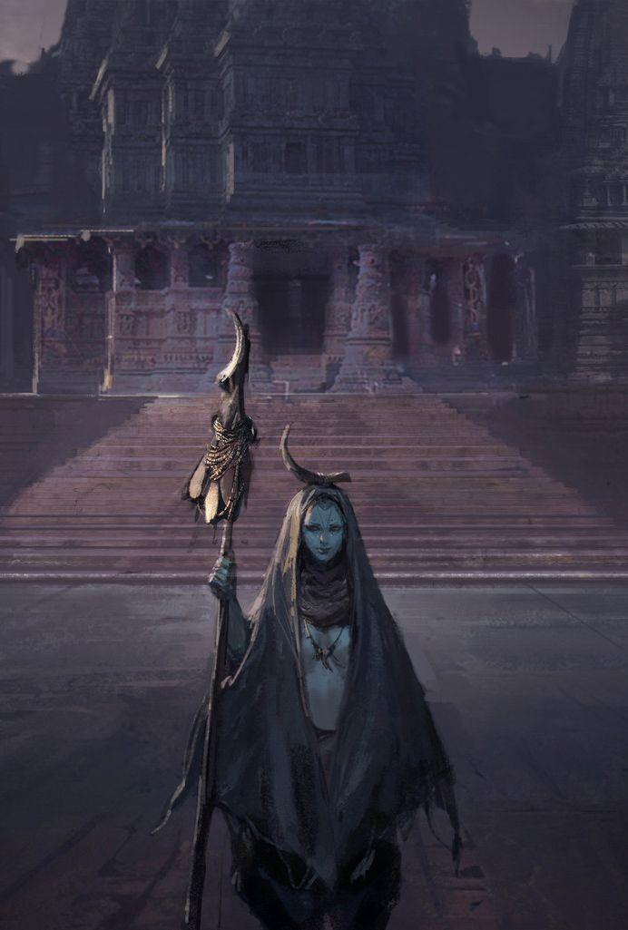 The Common Dungeon Master — fantasy-art-engine: Grave Keeper Village by Li...