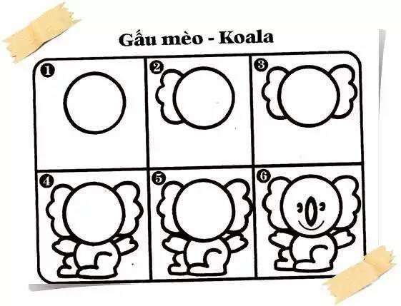 Tổng hợp 100 cách vẽ hình con vật ngộ nghĩnh, đơn giản cho bé