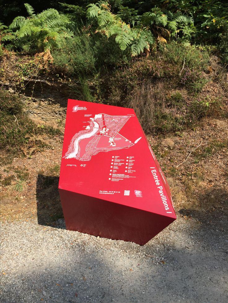 Map Of Poitiers%0A Map Design  Signage Design  Sign System  Park Art  Environment Design   Retail Design  Environmental Graphics  Banner  Exhibit