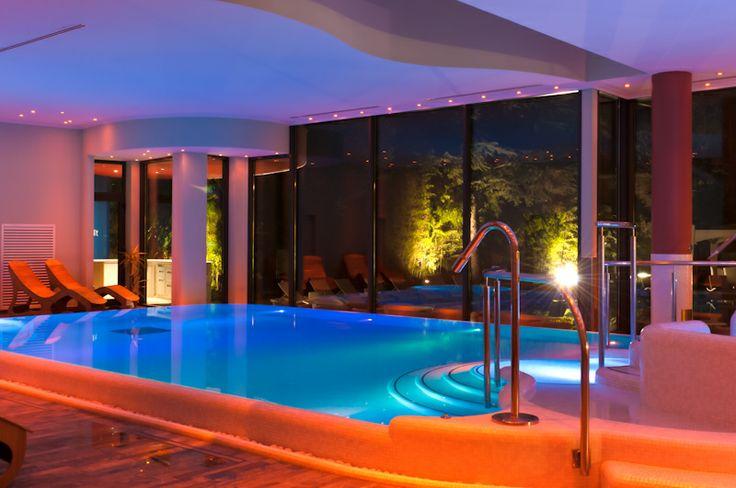 ...atmosfere rilassanti delle nostre piscine di acqua salata terapeutica...