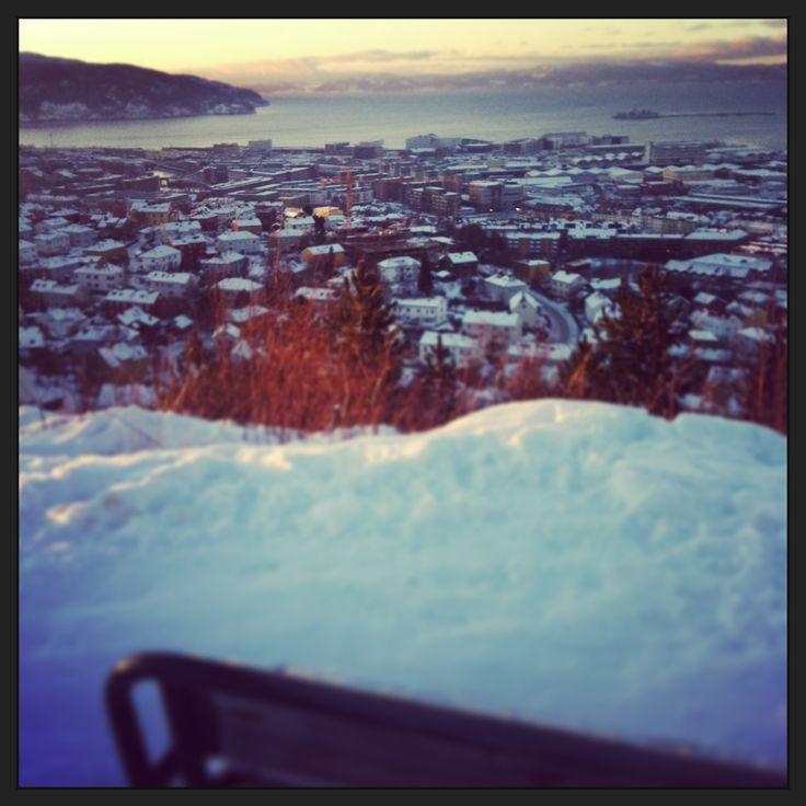 Nice view Kuhaugen #Trondheim