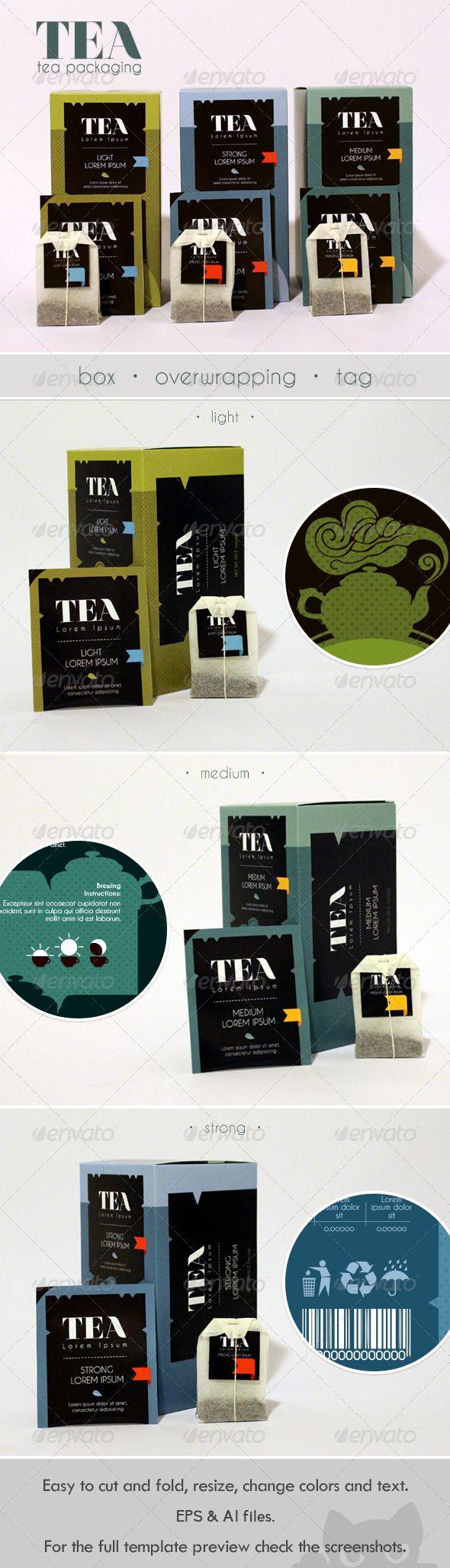 Modern Tea Packaging Design