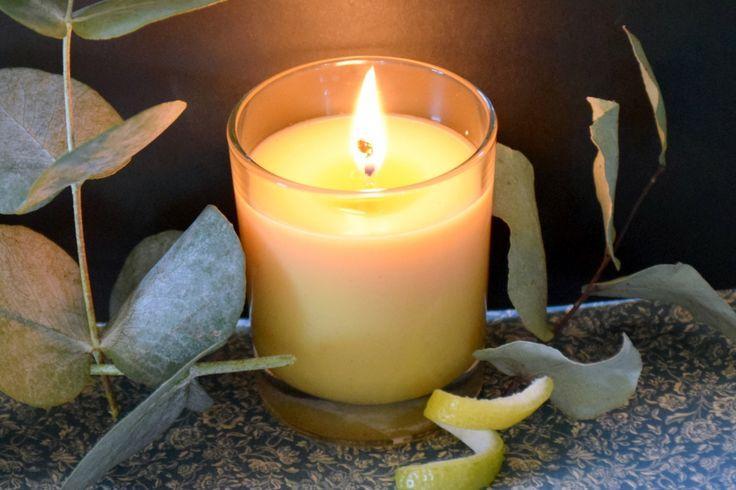 Recette tuto de Bougie d'été - Citronnelle & Eucalyptus citronné - Bougie anti moustique naturelle à faire soi même