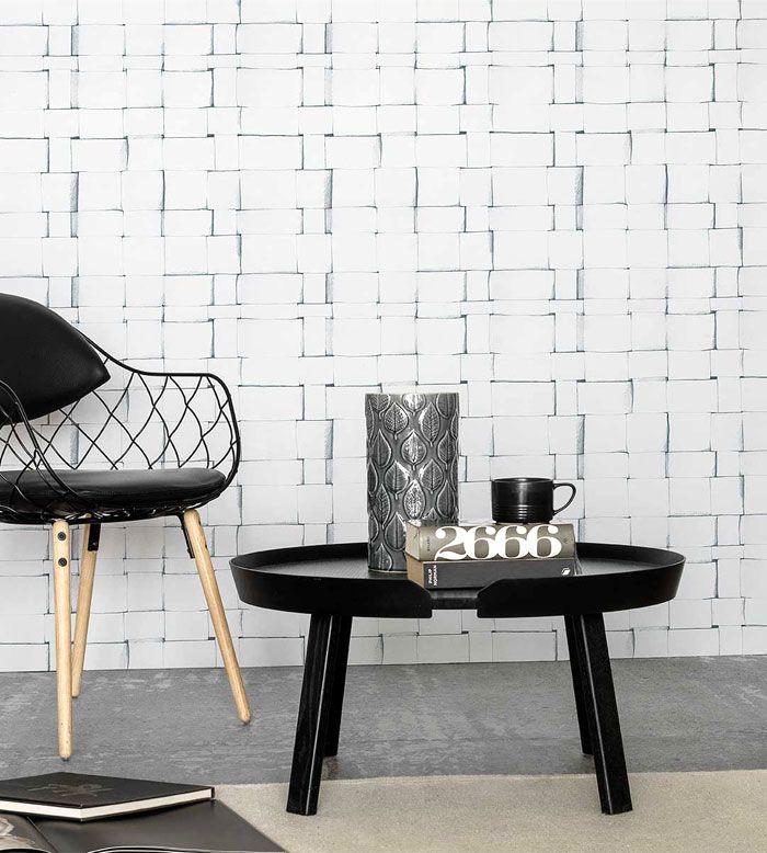 Eco Wallpaper a collaboré avec Front Design pour proposer une large gamme de papier peint contemporain avec des influences scandinaves.