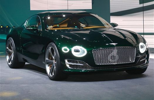 Bentley Exp 10 Speed 6 Concept Front End