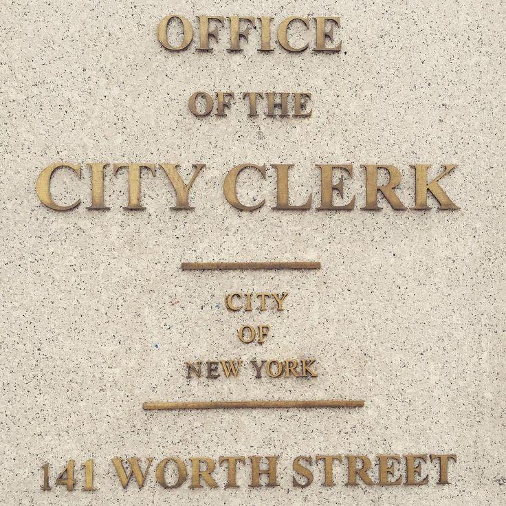 Formalités administratives pour se marier à New-York
