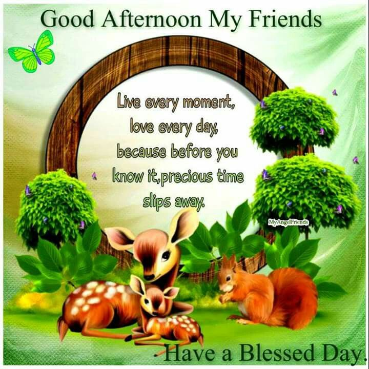 Have a good afternoon