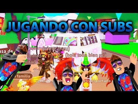 Directo De Roblox Jugando Con Todos Mis Suscriptores Youtube Pin On Youtube Channel