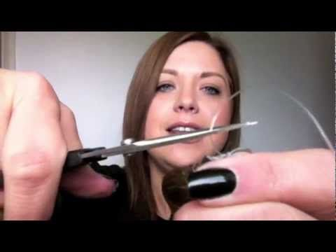 How To Adjust Your Halo From Halo Hair Extensions (New Patent Pending Halo) - YouTube