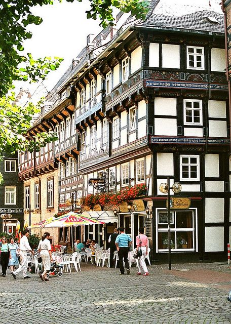 Goslar, Lower Saxony, Germany. Da war ich auch schon...  | repinned by www.mybestgermanrecipes.com