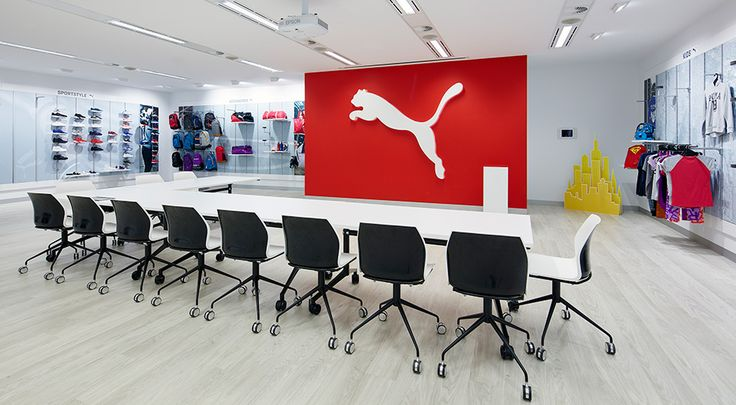 Puma Head Office & Showroom Commercial Office Fitout Boardroom
