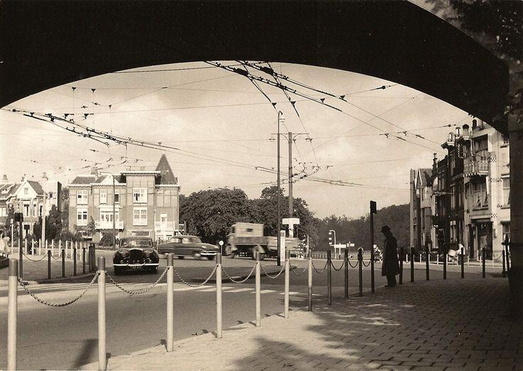 De Zijpsepoort in Arnhem, 1958