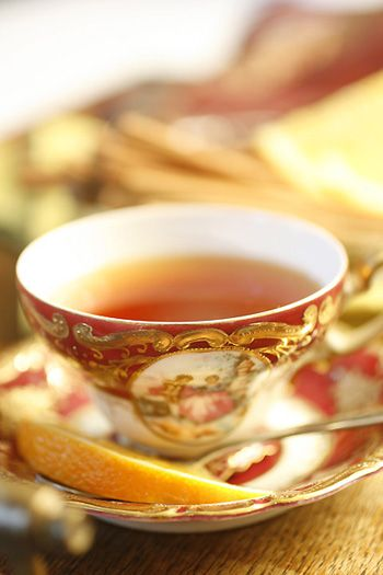 During cold winter evenings, my granny would gather a knitted blanket onto to her lap and sip her favorite tea. The odor of orange punctutated by the dark musk of cloves would fill our small living room as she siped, slowly turning the pages of her latest travel book. My version of her favorite tea has cinnamon for added spice and flavor.