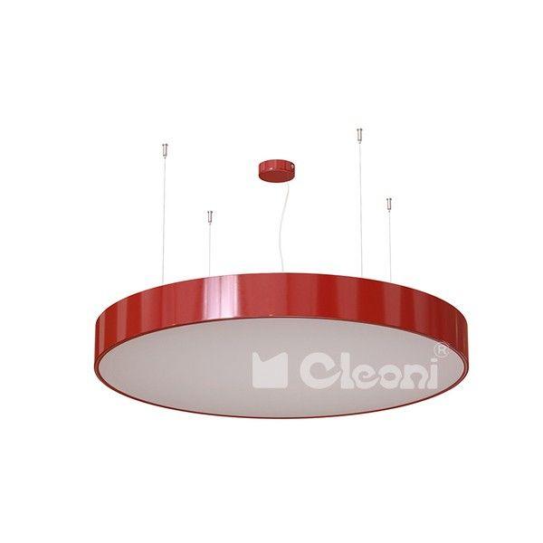 Lampy Cleoni  Aba 90 Wisząca - Cleoni - lampa wisząca    #design #promo #lamp #interior #Abanet #oświetlenie_Kraków #Cleoni  1267ZK1AEL
