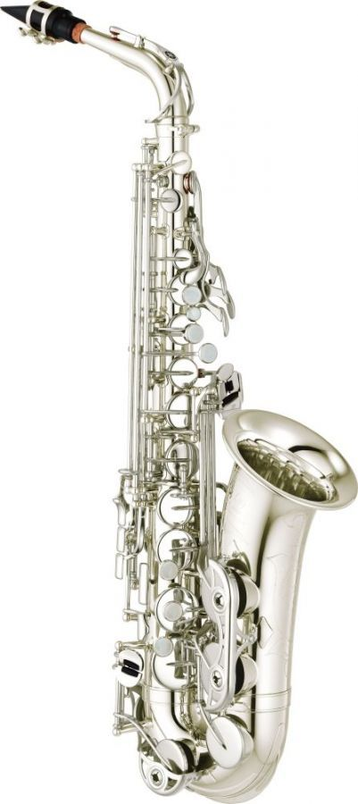 YAS-480S Eb Alto Saxophone - This Intermediate saxophone is designed to make the step up from your student model smooth and enjoyable.  The YAS/YTS-480 saxophones are a step ahead. With a little bit more resistance, they have an authoritative sound yet a great flexibility due to the separated key guards.  Ergonomics, playability and intonation are excellent as you would expect from Yamaha.  Based on the popular YAS/YTS-475 the new YAS/YTS-480 saxophones feature an improved low B-C# connect