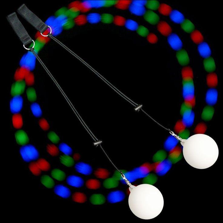 СВЕТОДИОДНЫЕ Полосы Профессиональных Женщин RGB Танец Живота Реквизит POI Брошенный Мяч Водонепроницаемый Открытый Праздник Рождество Украшение Партии купить на AliExpress