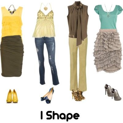 I Shape - what clothes complement my body shape - good to know! (site has other body shapes as well)