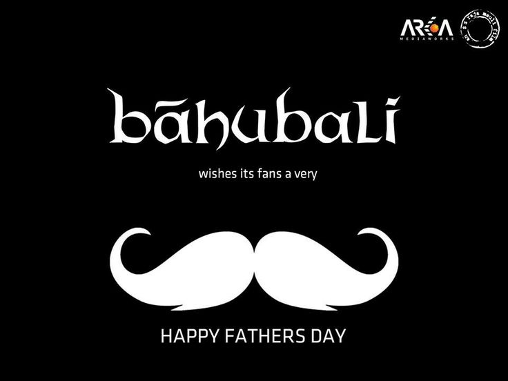 Team #Baahubali wishes all the fathers a very Happy Father's day.
