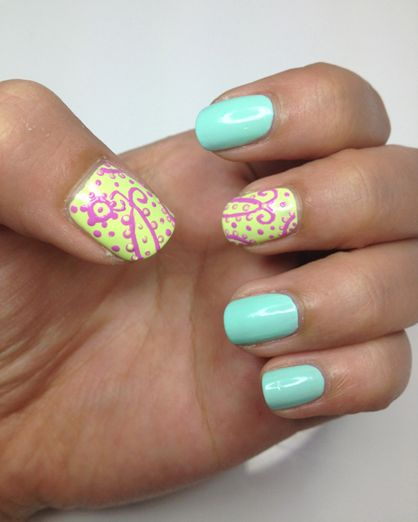 10 Summer Nail Art Ideas