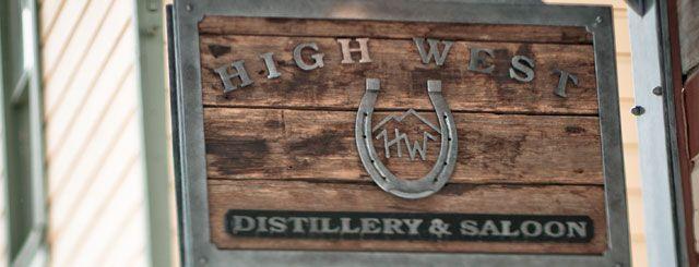 High West Whiskey Distillery & Saloon - Park City