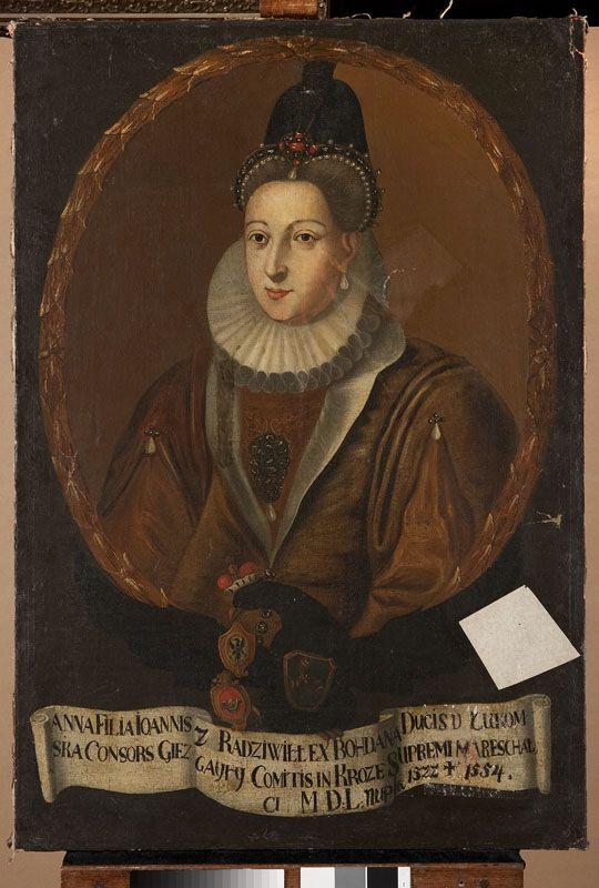 Muzeum Cyfrowe dMuseion - Portret Anny z Radziwiłłów Kieżgałłowej (ca 1512- 1554)
