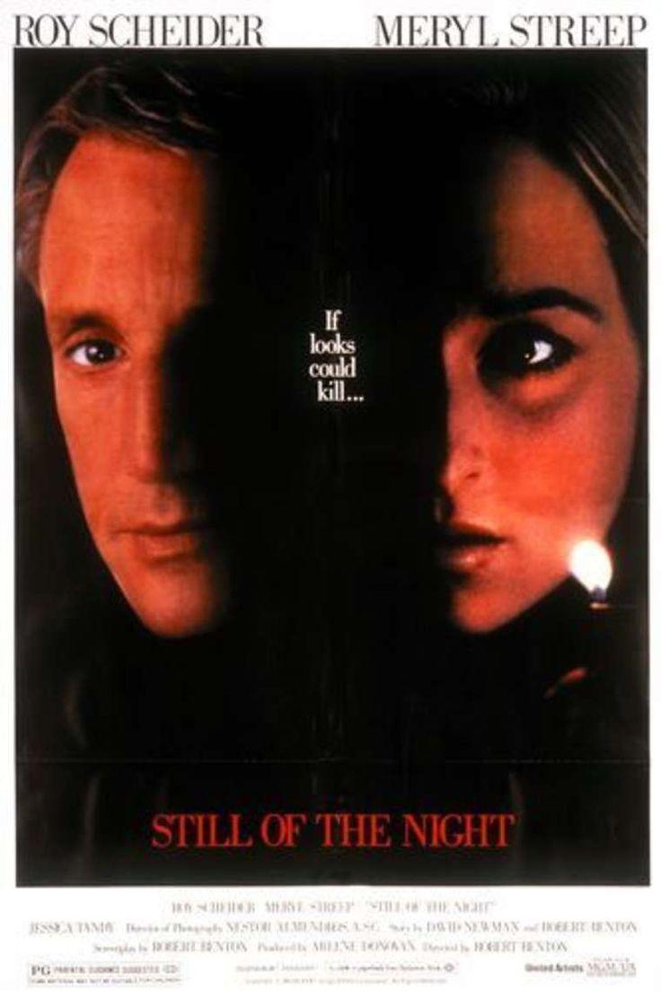 Still of the Night (1982) Stars: Roy Scheider, Meryl Streep, Jessica Tandy, Joe Grifasi, Sara Botsford, Josef Sommer ~ Director: Robert Benton