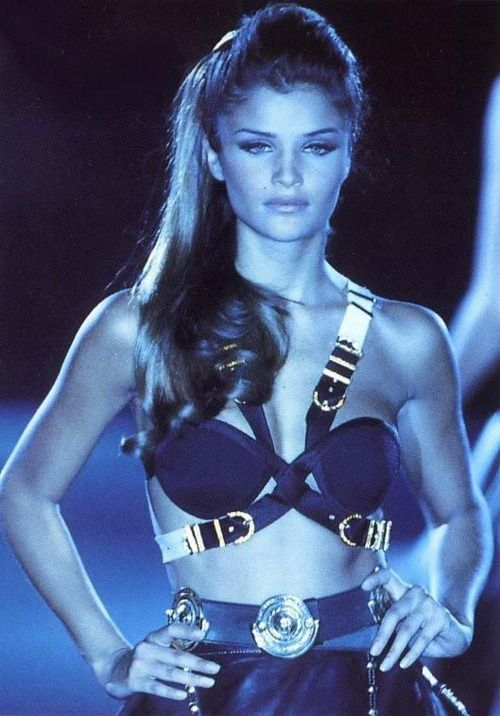 Helena Christensen for Gianni Versace (1990s)