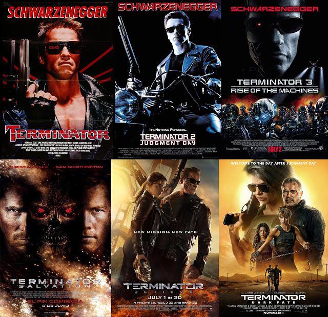 Saga Terminator El Exterminador Peliculas En Espanol Latino Mejores Peliculas De Accion Peliculas En Espanol