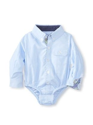 30% OFF Beetle & Thread Kid's Oxford Shirtzie (Light Blue)