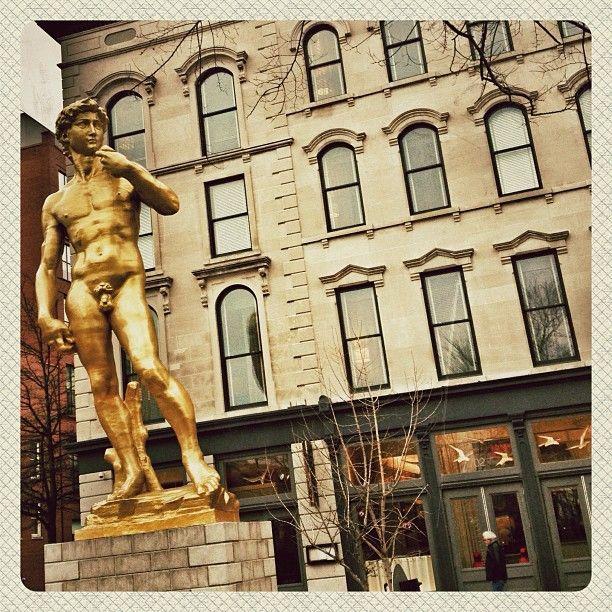SL. 21c Museum Hotel in Louisville, KY. Displays artwork