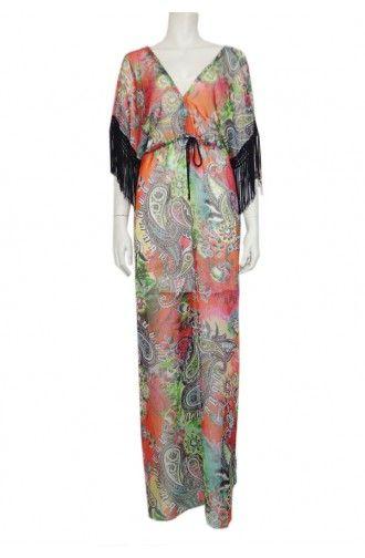 """Φόρεμα Maxi σε εμπριμέ χρώμα """"Apstock"""""""