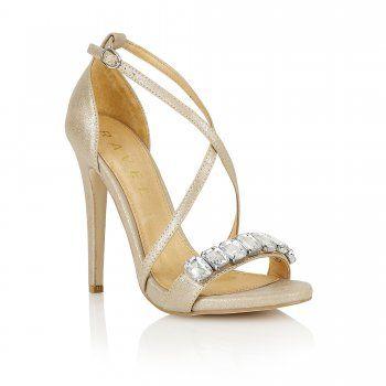 Buy Ravel ladies Houston heeled sandals online in rose gold
