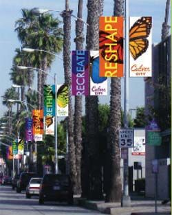 Streets of Culver City, California