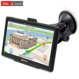 Junsun 7 inch HD Car GPS Navigation Capacitive screen FM 8GB 256M DDR Vehicle Truck GPS Europe Sat nav Lifetime Map (32321837238)  SEE MORE  #SuperDeals