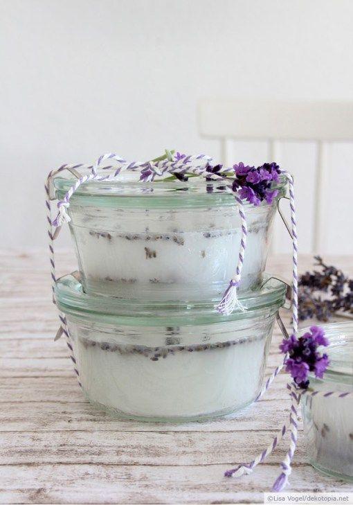 Lavendel-Duftkerzen                                                                                                                                                                                 Mehr