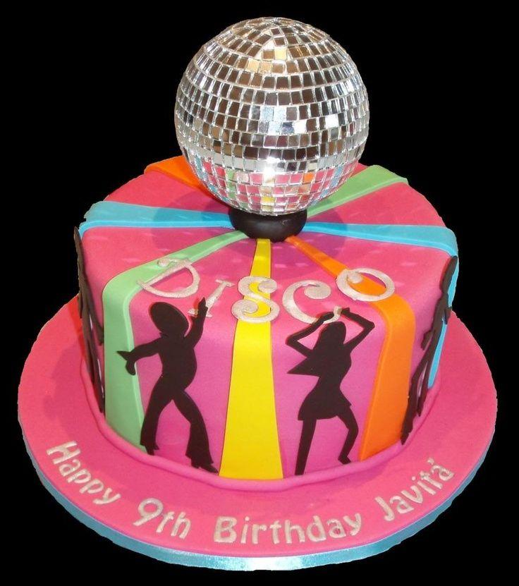 disco themed cakes | Via Meziyet Kalkavan