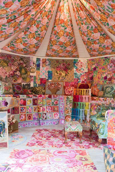Beautiful Artisan Retreats by Kaffe Fassett and Orla Kiely at the RHS Chelsea Flower Show | Heart Home magazine