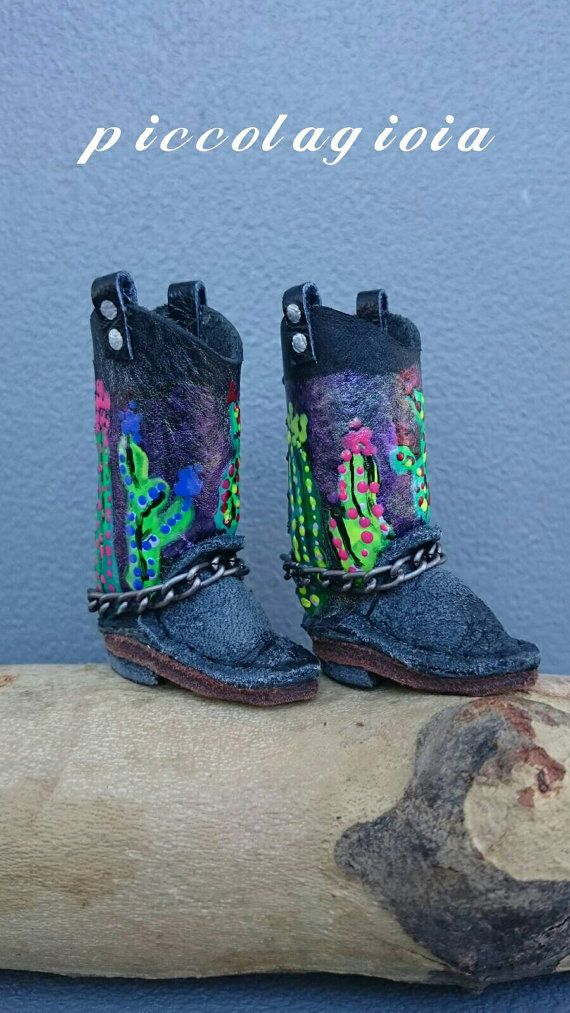 Blythe Schuhe Cowgirl Stiefel Edition Simone von piccolagioia