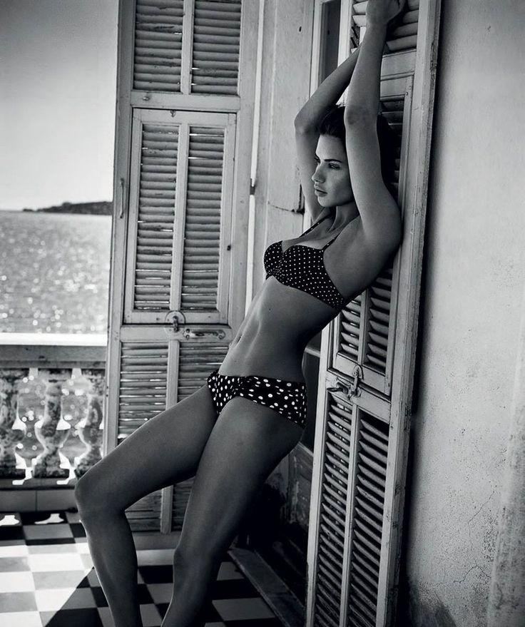 Adriana Lima In Dolce&Gabbana For Harper's Bazaar Spain