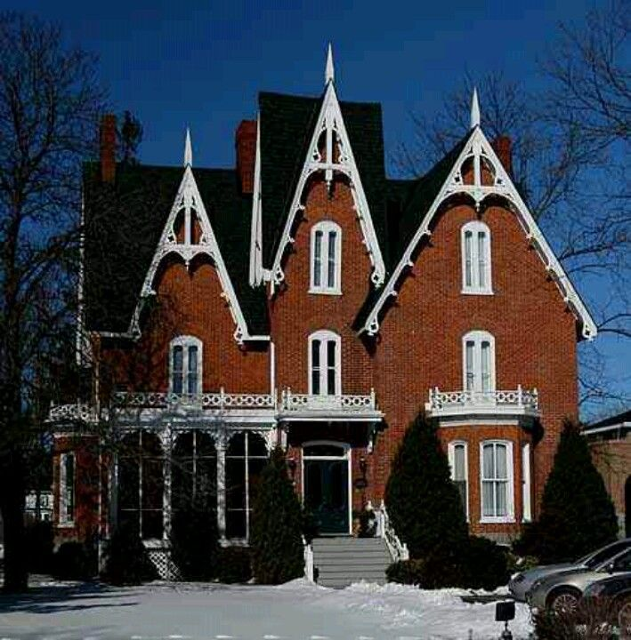 532 best images about old houses on pinterest mansions for Gothic revival home