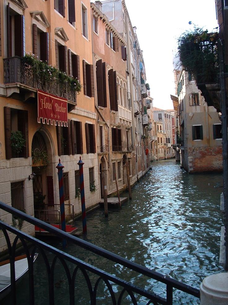 Fantastic hotel in Venice #becher.  http://www.visititalytravel.com/tours/romance/venice-city-of-love