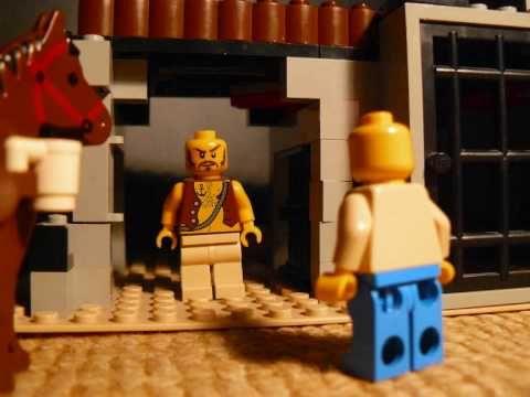 Het kerst verhaal in lego 2009